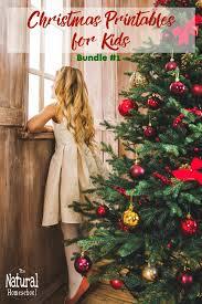 christmas printables for kids bundle 1 the natural homeschool