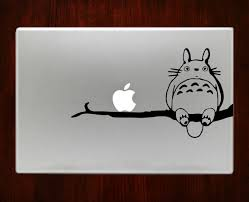 spirited away and neighbor totoro studio ghibli decal stickers for my neighbor totoro on tree branch decal sticker for macbook pro air