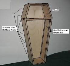 how to build a coffin best 25 coffin ideas on haunted house party