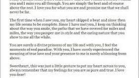 love letters for her from the heart examples love quotes