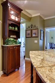 cherry cabinets in kitchen with what color paint iykwccc39 interesting yellow kitchen wall colors cherry