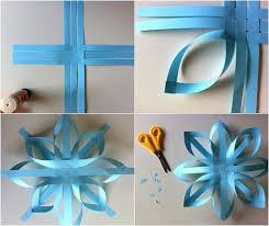 creative ideas diy paper snowflake ornament paper