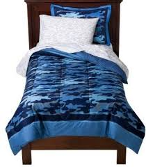 Blue Camo Bed Set Blue Cheetah Bedding Set Tokida For