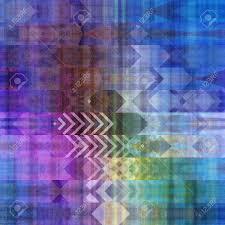Muster Blau Grün Kunst Abstrakte Bunte Grafik Hintergrund Geometrischen Grenze