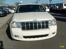 jeep laredo 2009 stone white 2009 jeep grand cherokee limited 4x4 exterior photo