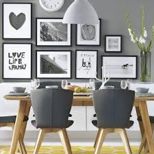 white and gray dining table colourful dining room ideas