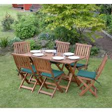 Round Garden Table With Lazy Susan by 6 Seater Wooden Furniture Sets U2013 The Uk U0027s No 1 Garden Furniture Store