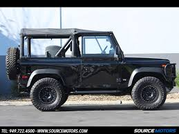 land rover jeep defender for sale 1995 land rover defender for sale in orange county ca stock