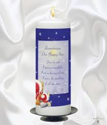 in memory of gifts personalised personalised christmas remembrance candles christmas remembrance