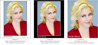 us resume format professional actor headshots sle 8x10 photo headshot name setups border bleed compostion