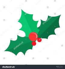 mistletoe christmas tree red balls green stock vector 527314654