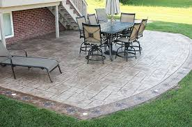Cement Patio Designs Cement Patios Pictures Outdoor Goods