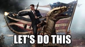 Raptor Meme Generator - let s do this reagan raptor meme generator