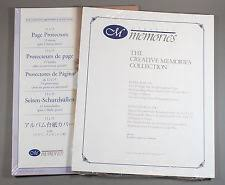 scrapbook page protectors creative memories 12x15 pages ebay
