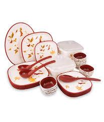 nayasa dinner set 32 pcs buy at best price in india