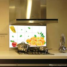 Stick Wall Fruits Kitchen Wall Stickers Oranges Banana Apple Wall Art
