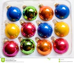 box of ornaments royalty free stock photos image 1505578