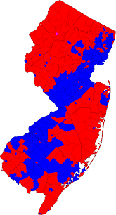 New Jersey Map New Jersey Election Map Swimnovacom United States Presidential