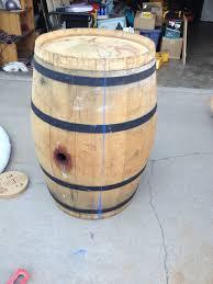 diy wine barrel coffee table album on imgur