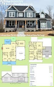 plan 500007vv craftsman house plan with main floor game