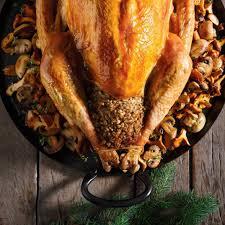 Thanksgiving Pork Pork And Mushroom Stuffed Turkey Ricardo