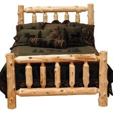 rustic bedroom furniture log beds and hickory beds black forest