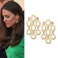 earrings kate middleton the earliest photo of kate middleton wearing the goad