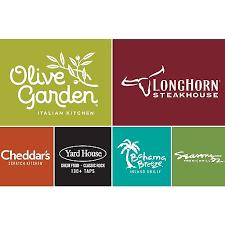 longhorn gift cards staples 100 darden gift card longhorn steak house olive garden