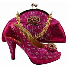 wedding shoes in nigeria aliexpress buy high quality nigeria fuchsia color wedding