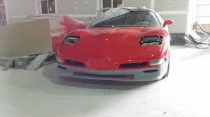 c5 corvette front spoiler front splitters c7 carbon fiber aerodynamic parts
