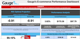 seo monthly report template ecommerce performance reporting template png