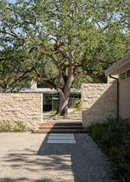 this california home was designed around a 100 year old oak tree