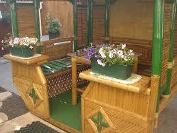 tonnelle en bambou achat bambou le choix du bambou pour votre salon de jardin