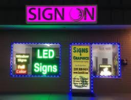 led outdoor strip lighting led accent u0026 strip lighting sign on digital led sign specialists