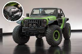 jeep moab truck jeep u0027s wrangler hellcat and six other sweet concepts for moab