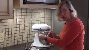 Kitchenaid Classic Mixer by Reviewing The Kitchenaid Classic Plus Mixer Youtube