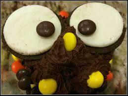 owl halloween cupcakes chocolate owl cupcakes sugar and spice