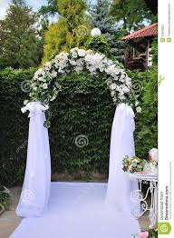 wedding arch decorations decorated wedding arches www edres info