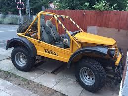jeep buggy road legal buggy suzuki sj samurai 413 off roader 4x4 roll cage