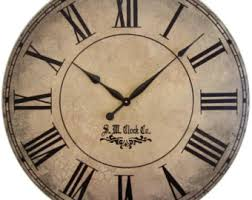 Personalized Picture Clocks Antique Wall Clock Etsy