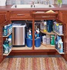 Kitchen Storage Shelves by Best 20 Under Sink Storage Ideas On Pinterest Bathroom Sink