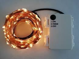 outdoor timer 20m 200 led 3aa battery powered copper wire fairy