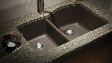 overmount sink on granite granite countertops with undermount sinks mogams