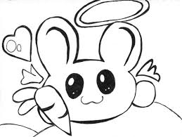 cute chibi bunny by artisticlymel on deviantart