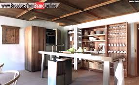 luxus küche rustikale moderne luxus küche edelstahl schrank