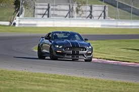 Black Mustang With Green Stripes 2017 Gt350 Magnetic Grey Black Stripes In Montreal