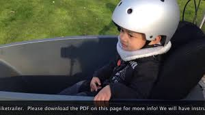 siege velo bébé le siège bébé coque pour remorque vélo et cargo melia