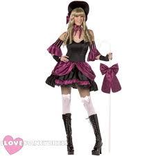 ladies little bo peep rebel toons fancy dress fairy tale costume