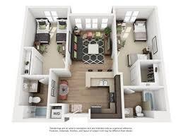 2 bedroom 2 bath floor plans 2 bed 2 bath floorplan a4 apartments near san jose state