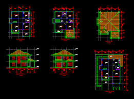 100 cad house autocad architectural drafting samples modern